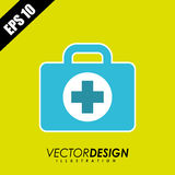 Medical icon  design. Medical icon design,  illustration eps10 graphic Royalty Free Stock Images