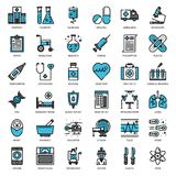 Medical icon. Healthcare and medical, pixel perfect filled outline icon, isolated on white background Royalty Free Stock Photos