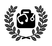 Medical icon. Over white background vector illustration Royalty Free Stock Image
