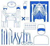 Medical icon set Royalty Free Stock Photo