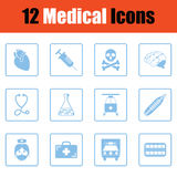 Medical icon set Stock Photos