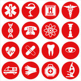 Medical icon set. Stock Photography