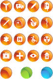 Medical Icon Set - Label Royalty Free Stock Photography