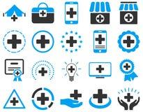 Medical icon set Royalty Free Stock Image