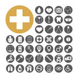 Medical Icon set vector illustration Stock Images