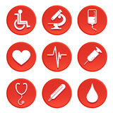 Medical icon vector Stock Photo