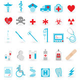 Medical icon  vector set Royalty Free Stock Photos