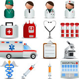 Medical icons. Medical and Hospital  Centre icons Stock Images