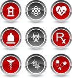Medical icons. Medical icon set. Vector illustration stock illustration
