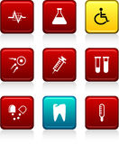 Medical icons. Royalty Free Stock Image