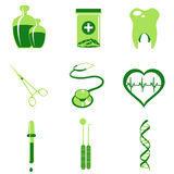 Medical icons Stock Image