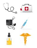 Medical icons. Over white background. vector illustration Royalty Free Stock Images