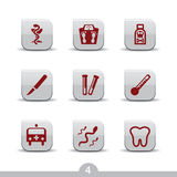 Medical icons 4..smooth series Stock Photo
