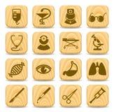 Medical icons Stock Photos