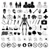Medical icons, eps10 Stock Photography
