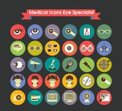 Medical Icons Eye Specialist Stock Photos