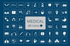 Medical 48 icons vector illustration