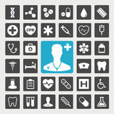 Medical icons. Healthcare and medical  icon set Stock Photography