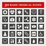 Medical icons. Healthcare and medical icon set Royalty Free Stock Image