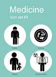 Medical icons. Medical icon set. Editable vector illustration Stock Photo