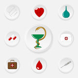 Medical_Icons Royalty Free Stock Photo