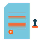 MEDICAL ICONS. MEDICAL ICON STOCK PHOTOS VECTOR stock illustration