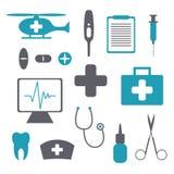 Medical Icons Royalty Free Stock Photo