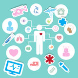 Medical icons ,Illustration eps 10 Stock Image