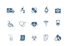 Medical icons | piccolo series Stock Image