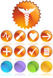 Medical Icons - Seal Royalty Free Stock Photos