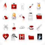 Medical icons / set 1 Royalty Free Stock Photography
