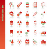 Medical icons set Stock Photo