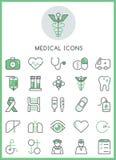 Medical icons set  design concept Stock Photos