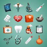 Medical Icons Set1.1. In the EPS file, each element is grouped separately. Clipping paths included in additional jpg format vector illustration