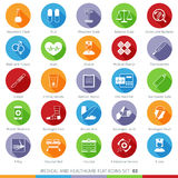Medical Icons Set 03F Stock Images
