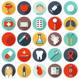 25 medical icons Royalty Free Stock Photography
