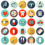 25 medical icons Stock Photo