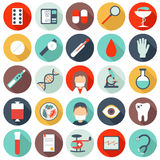 25 medical icons Royalty Free Stock Photos