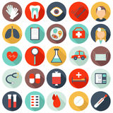 25 medical icons Stock Image