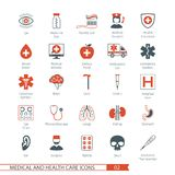 Medical Icons Set 02 Stock Photos