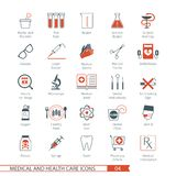 Medical Icons Set 04 Stock Photo