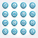Medical icons royalty free illustration