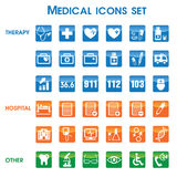 Medical icons set (01) Stock Image