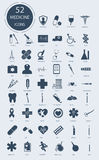 Medical icons. Vector elements Royalty Free Stock Images