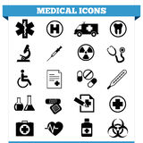 Medical Icons Vector Set Stock Photos