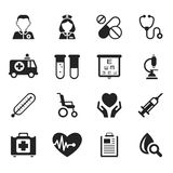 Medical icons vector Royalty Free Stock Images
