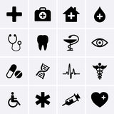 Medical Icons. For web. Vector Royalty Free Stock Photography