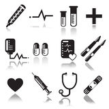 Medical icons. For your web or printed Vector Illustration