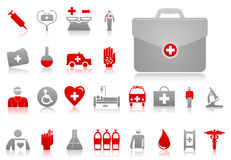 Medical icons4 Stock Photography