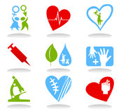 Medical icons6 Stock Photo